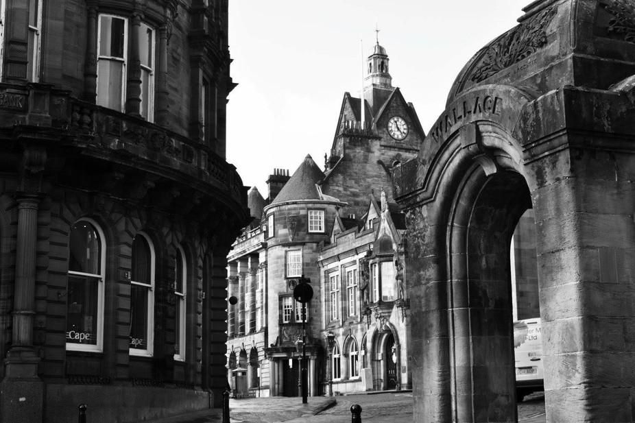 Taken in the city of sterling in Scotland