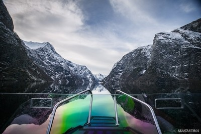 The best way to see the Fjords in Norway is by boat!