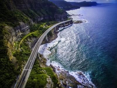Sea Cliff Bridge NSW AUSTRALIA