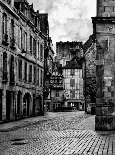 A Street in Quimper Brittany
