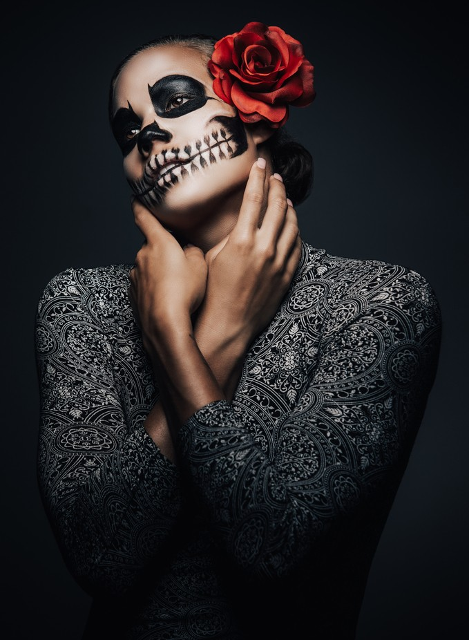 Toni Skull by nickelphoto - Paint And Makeup Photo Contest