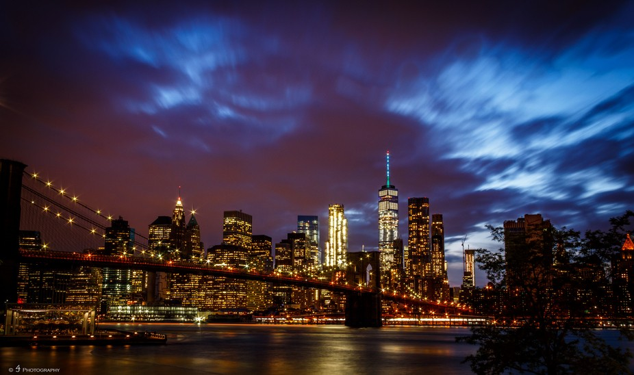 Stormy NYC Skyline