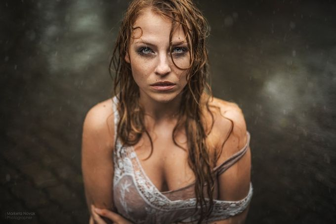 In raining ... by MarketaNovak - Female Seduction Photo Contest