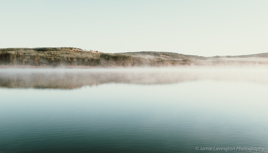 After a night of wild camping by the side of Clatteringshaws Loch, in Scotland, we awoke to amazi...