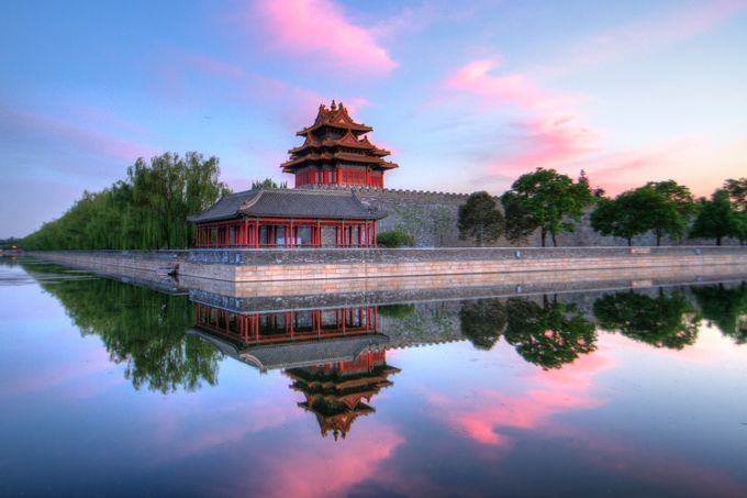Reflections of the Forbidden City by dyanpratt - Cities By The Water Photo Contest