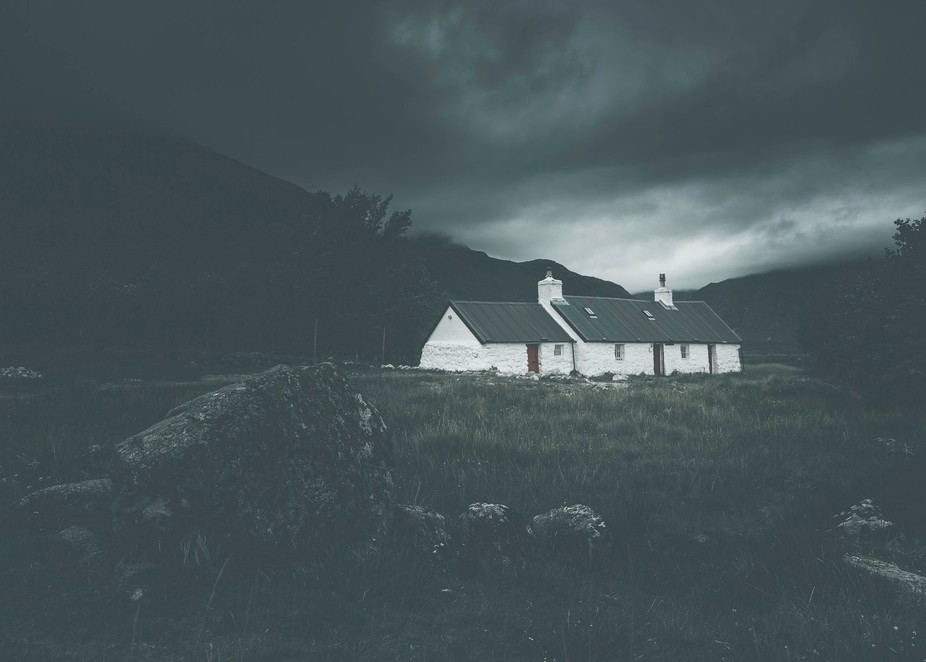 Black Rock Cottage is probably one of the most photographed places in the Scottish Highlands. It&...