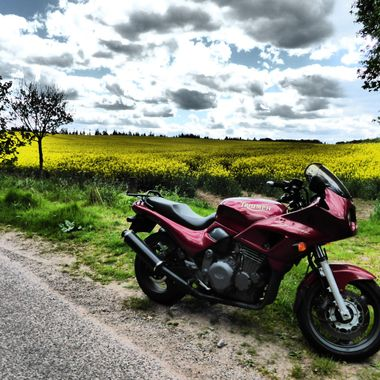 Out for a spin in the Countryside,  Such FUN.