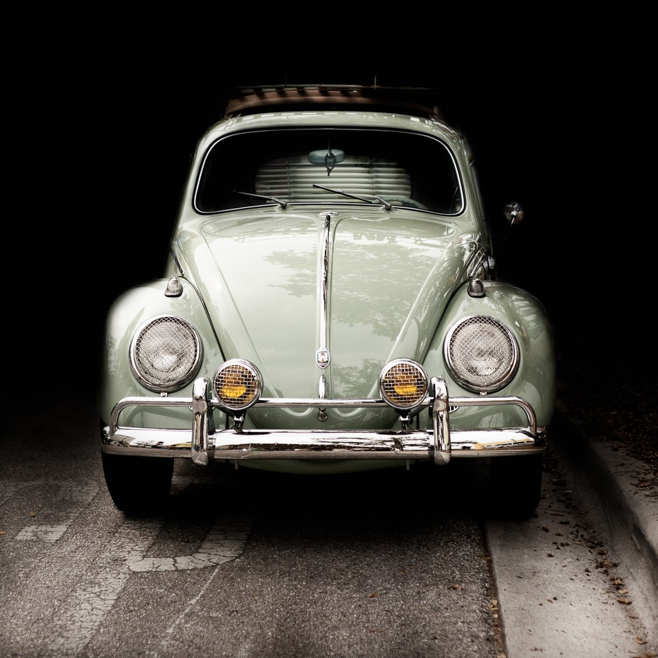 The Green Bug by mzoom62 - My Favorite Car Photo Contest