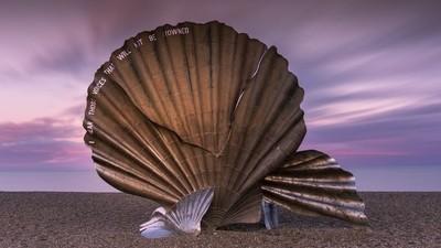 Aldeburgh Scallop Sculpture