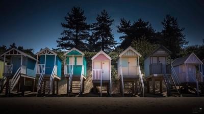 Peaceful Beach Huts