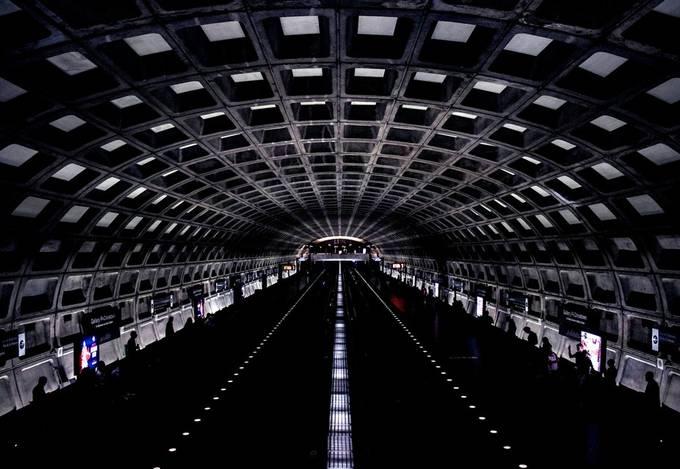 Metro by calebdaniel - Public Transport Hubs Photo Contest