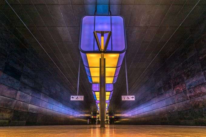 Metro Station Hamburg by RalfvonSamson - Public Transport Hubs Photo Contest