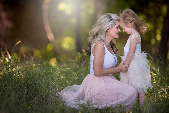 Mommy and Daughter embrace by CourtneyBlissett - Motherhood Photo Contest 2017