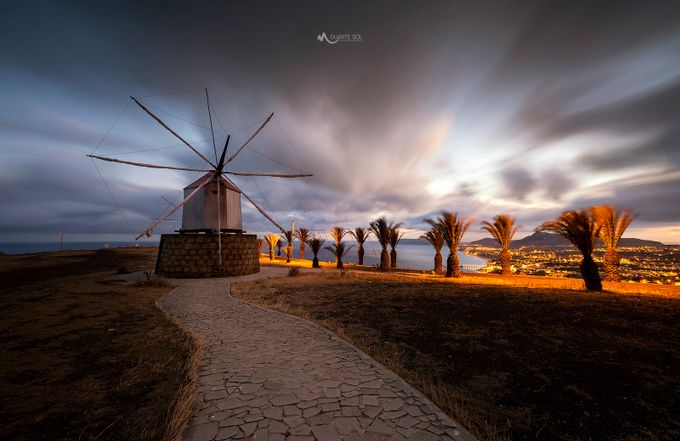 The Windmill by duartesol - The Moving Clouds Photo Contest