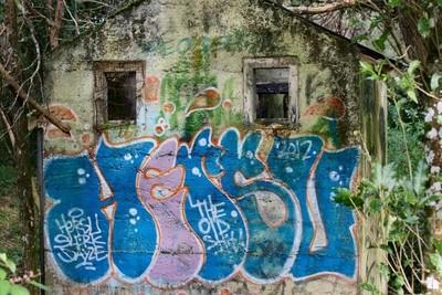 Abandoned toilet block, Otauira Reserve 2