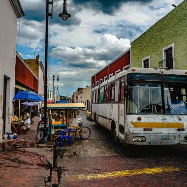 Little walk before to visit Chichen Itza, Valladolid is a little town where you stop before visit one of the 7 wonders!!!!