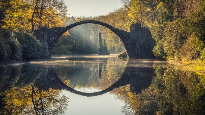 Rakotzbrücke by LukasPetereit - Rule Of Seconds Photo Contest vol1
