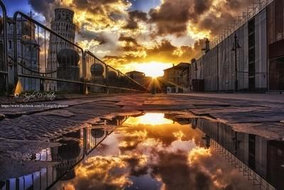 Dawn at Pisa