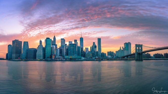 Manhattan Sunset by StefanLueger - Image Of The Month Photo Contest Vol 22