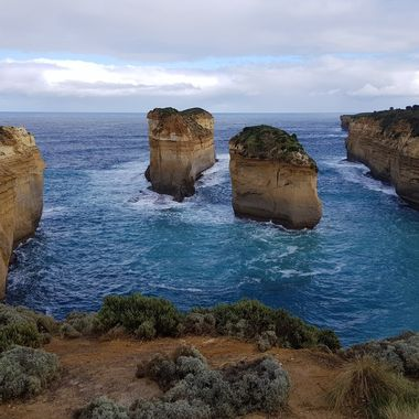 Loch Ard Gorge on Victoria's Great Ocean Road in Australia