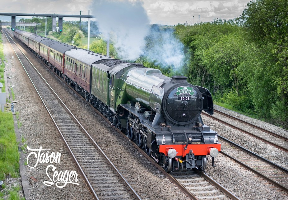Flying Scotsman Shrewsbury to Cardiff May 2017 c