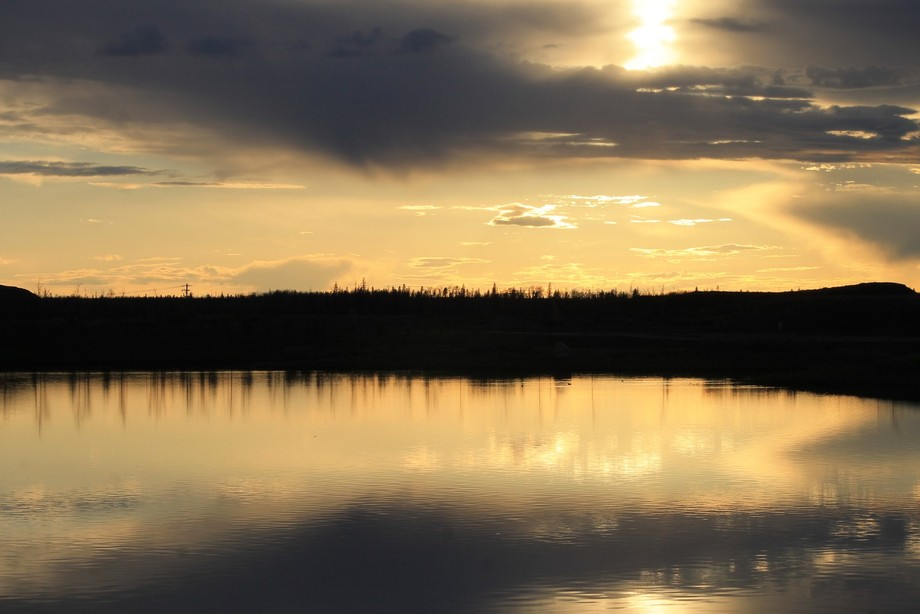 Sunset at Parsons Pond