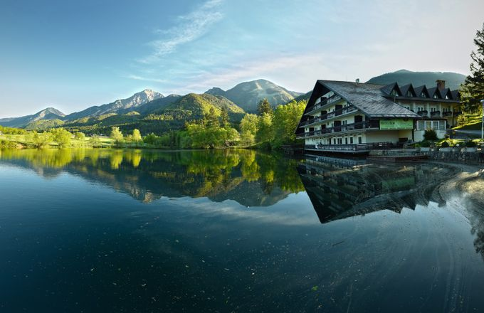 The morning reflections by Gita - Spectacular Lakes Photo Contest