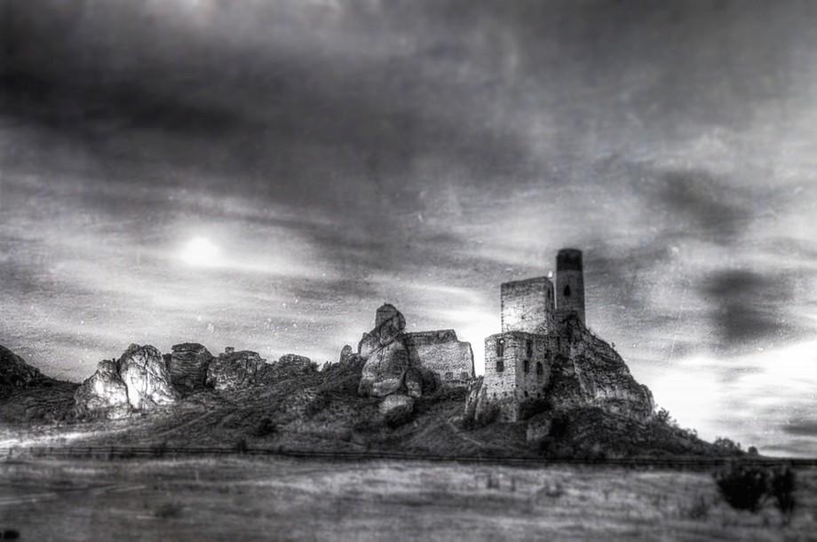 Old castle rather ruins. Cradle of Polish statehood.