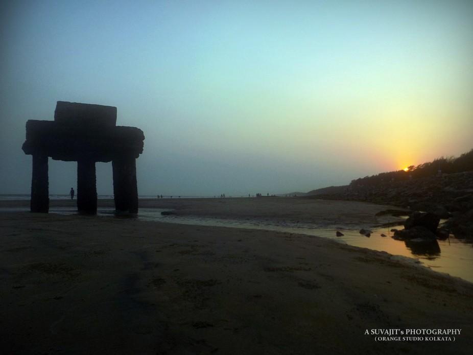 An Evening time at Digha Beach .... (West Bengal, India)