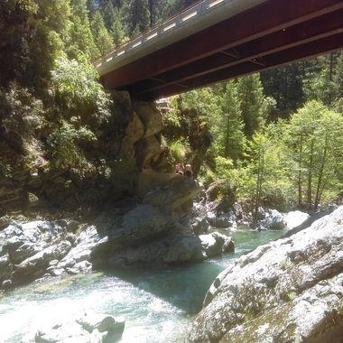 Butte creak bridge, ca