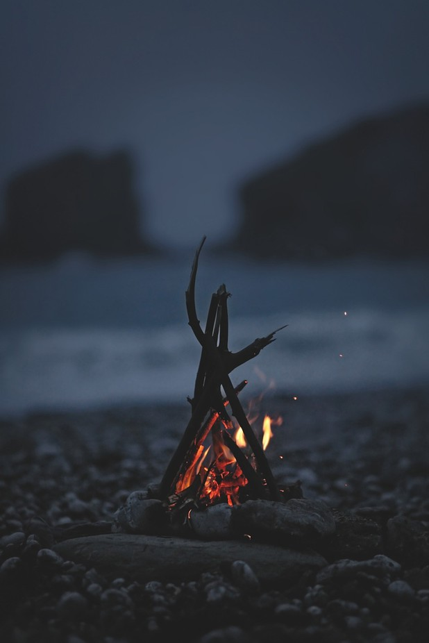 BEACH FIRE by IDEEFIXE - Shooting Fire Photo Contest