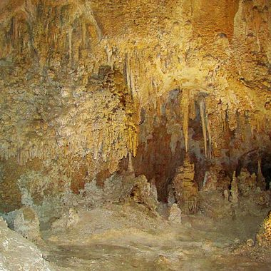 Taken in Carlsbad Caverns in New Mexico