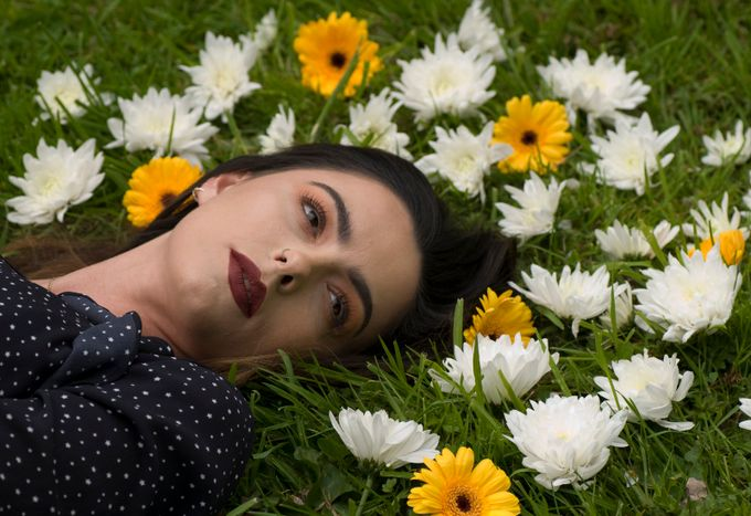 Flower eyes by davestokes - Subjects On The Ground Photo Contest