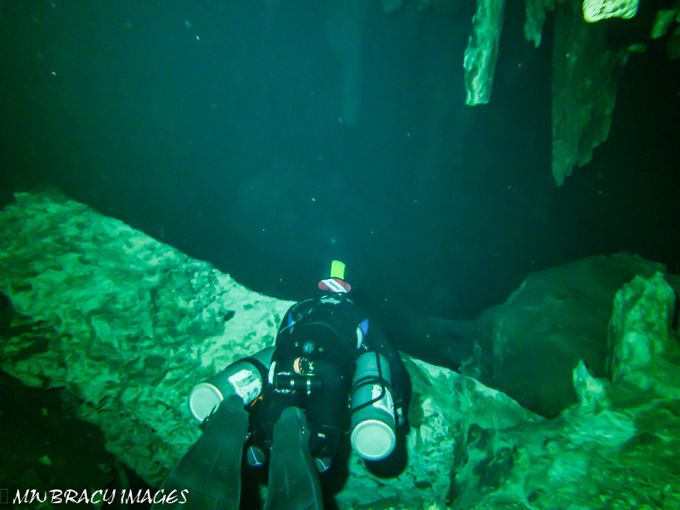 You cannot dive the subterranean rivers known as Cenote's without a licensed and experienced guide. Mine was awesome