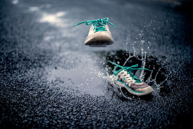 Runaway Shoes  by PHOTOHAPPY - Subjects On The Ground Photo Contest
