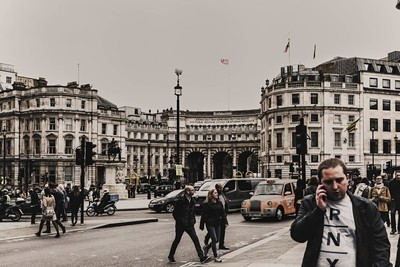 In the City - Admiralty Arch