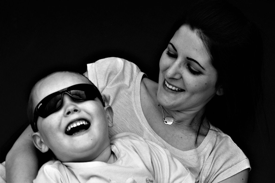 This is my wife and son playing together. I love the pure happiness on there faces. True Love.