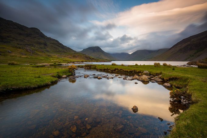 Sunset at Wast Water by martinwest - Streams In Nature Photo Contest