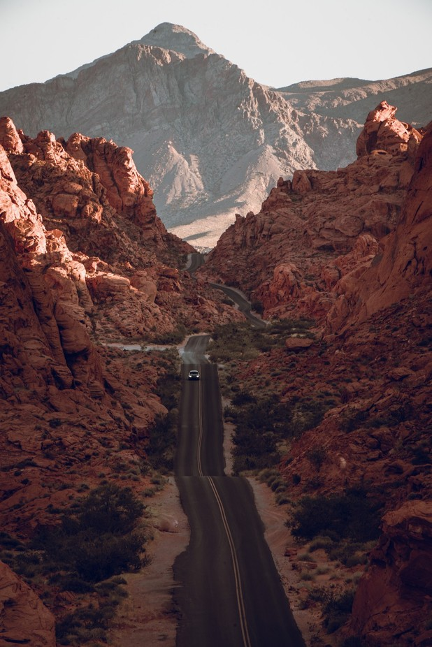 Valley of Fire by albaker - Strong Foregrounds Photo Contest