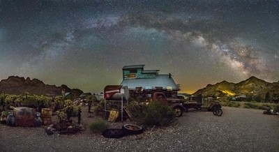 Nelson ghost Town Pano