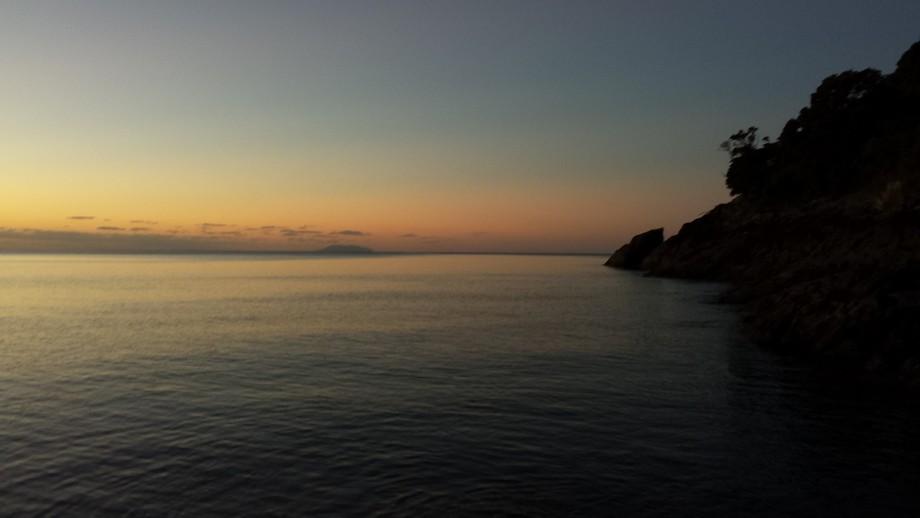 Sunset Waiheke Island,.N.Z