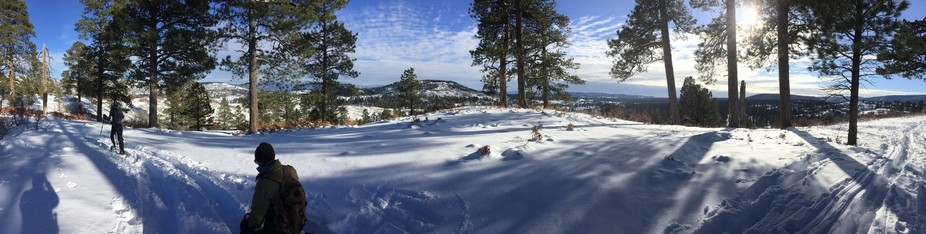 Snowshoeing in CO