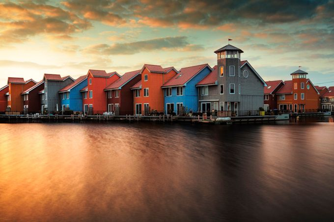 Sunset colors by madspeteriversen - My Favorite City Photo Contest