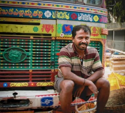 Indian Truck Driver