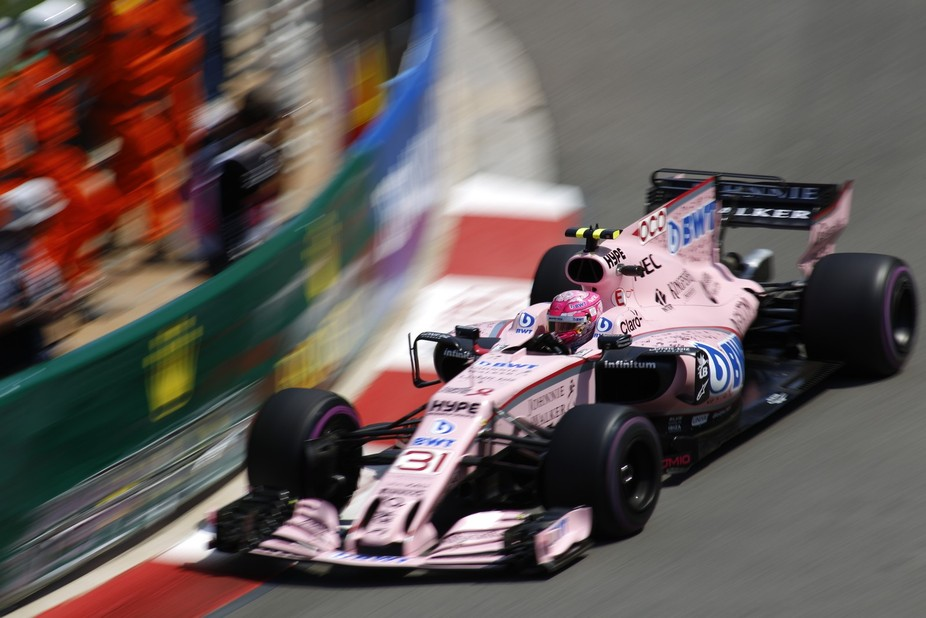 SAHARA FORCE INDIA F1 TEAM 31 Ocon
