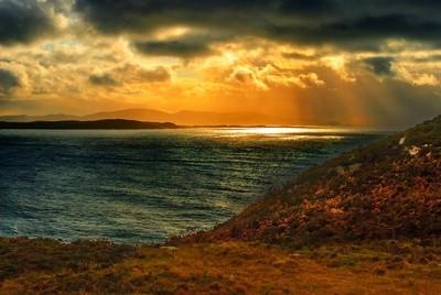 Atlantic ocean, Donegal, West coast of Ireland