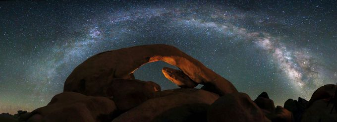 Arch Rock @ Joshua Tree NP by sachinus2010 - Nature And The Night Photo Contest
