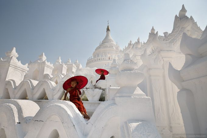 The Hsinbyume Pagoda by kutsey - Cultures of the World Photo Contest