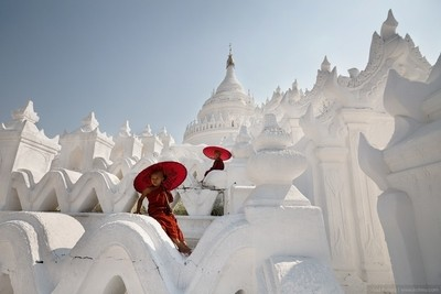 The Hsinbyume Pagoda