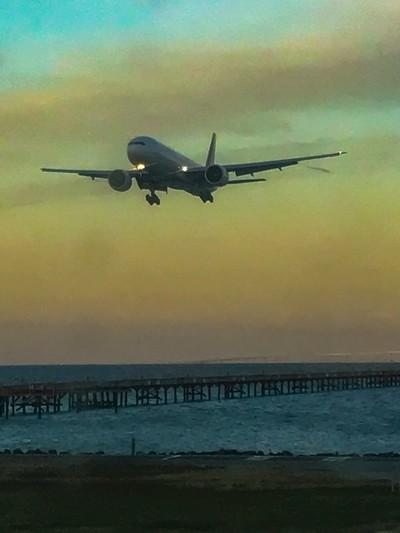 Flight Attendants please be seated for landing!